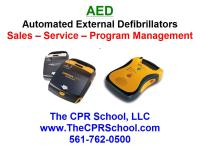 Florida AED Sales and AED Service